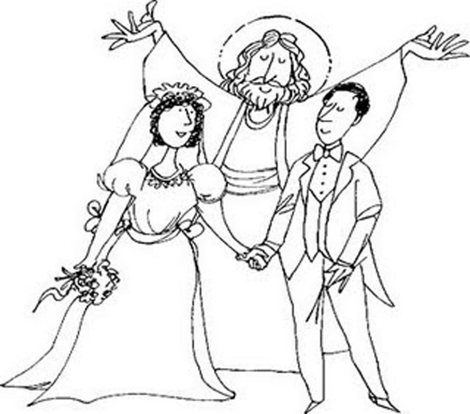 Matrimonio Catolico Para Dibujar : O sacramento do matrimônio fraternidade são luchésio e